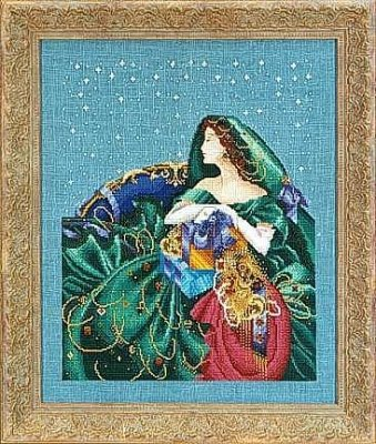 Mirabilia Christmas Elegance Counted Cross Stitch Chart