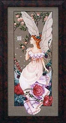 Mirabilia Fairy Flora Counted Cross Stitch Chart