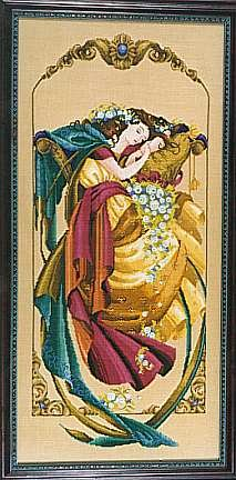 The Dreamer Counted Cross-Stitch Chart
