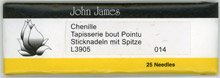 Chenille Needles #14 package of 5 needles
