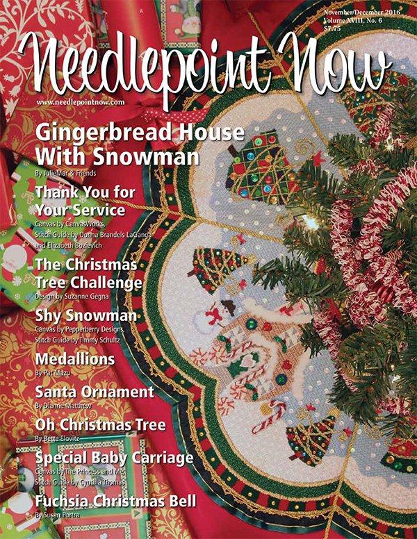 Needlepoint Now Magazine Back Issue Nov/Dec 2016