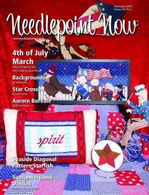 Needlepoint Now Magazine Back Issue Jul/Aug 2013