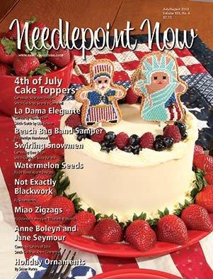 Needlepoint Now Magazine  Back Issue Jul/Aug 2014