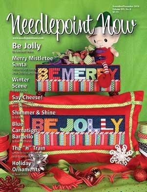 Needlepoint Now Magazine Back Issue Nov/Dec 2014