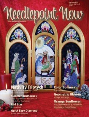 Needlepoint Now Magazine Back Issue May/Jun 2018