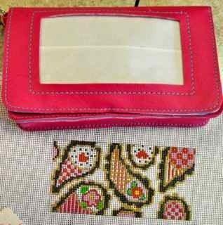 PinkBag&HandpaintedCanvas