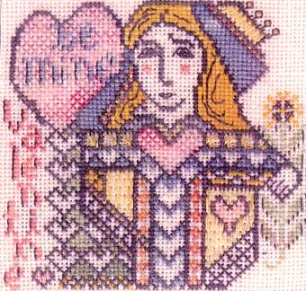 Be Mine Counted Cross Stitch