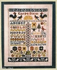 The Morning Samplers Counted Cross Stitch Chart