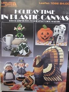 Holiday Time in Plastic Canvas