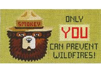 Smokey - Only You, Patch/Eyeglass Case, 6.5X3.5, 18m, Supports USFS
