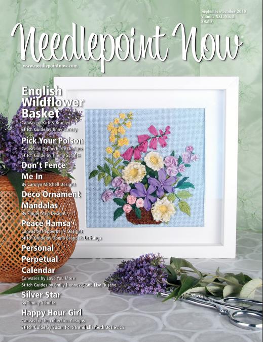 Needlepoint Now Magazine Back Issue Sept/Oct 2019