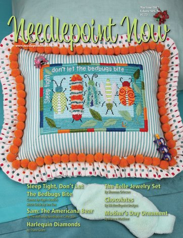 Needlepoint Now Magazine Back Issue May/Jun 2017