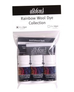 Ashford Rainbow Wool Dye Collection