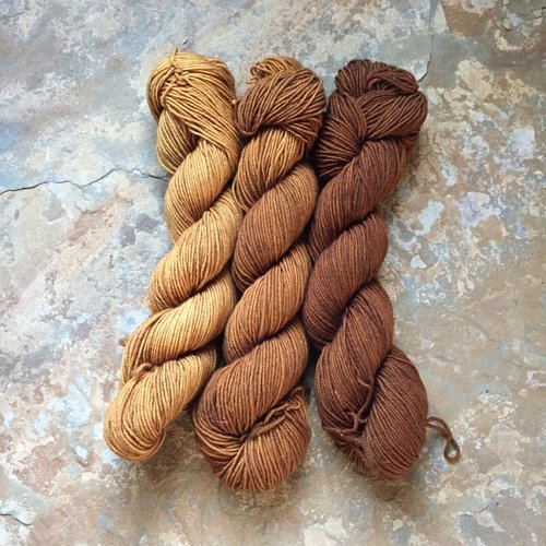 Drunk Yarn Home Dyeing Kit - Bourbon (Fingering)