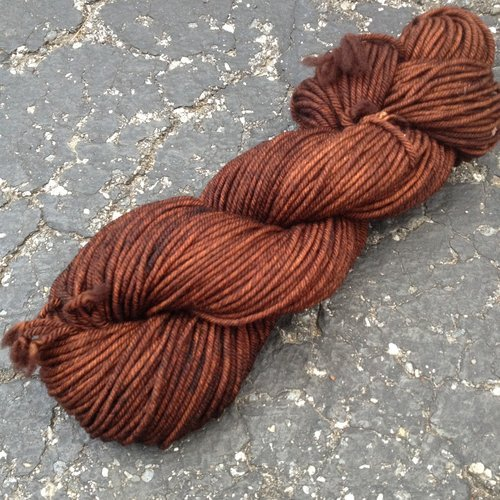 Drunk Yarn Home Dyeing Kit - Coffee (Worsted)