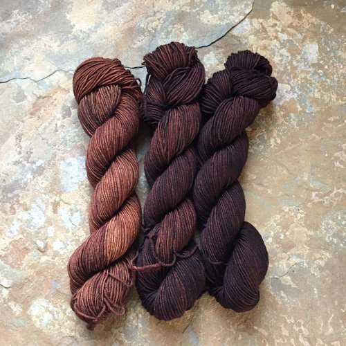 Drunk Yarn Home Dyeing Kit - Coffee (Fingering)