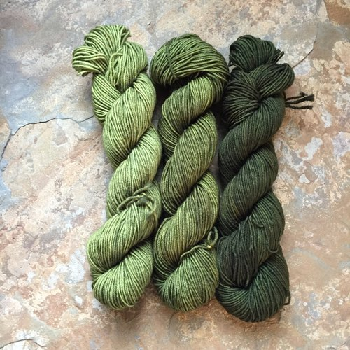 Drunk Yarn Home Dyeing Kit - Mojito (Fingering)