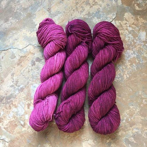 Drunk Yarn Home Dyeing Kit Sangria Fingering