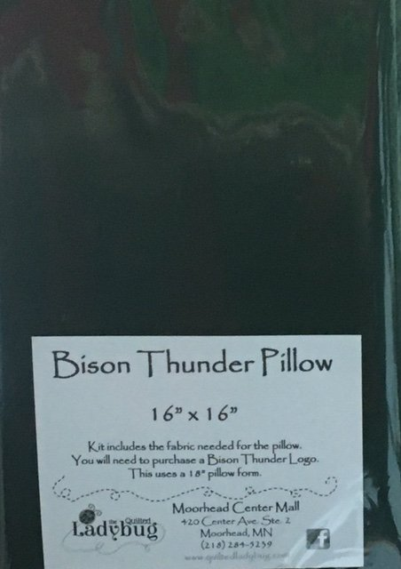Bison Thunder Pillow Kit 18 Square