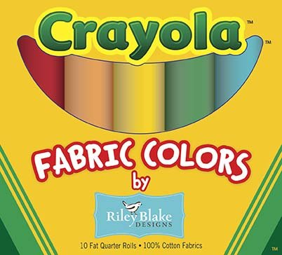 Crayola Solids Fat Quarter Pack 1116