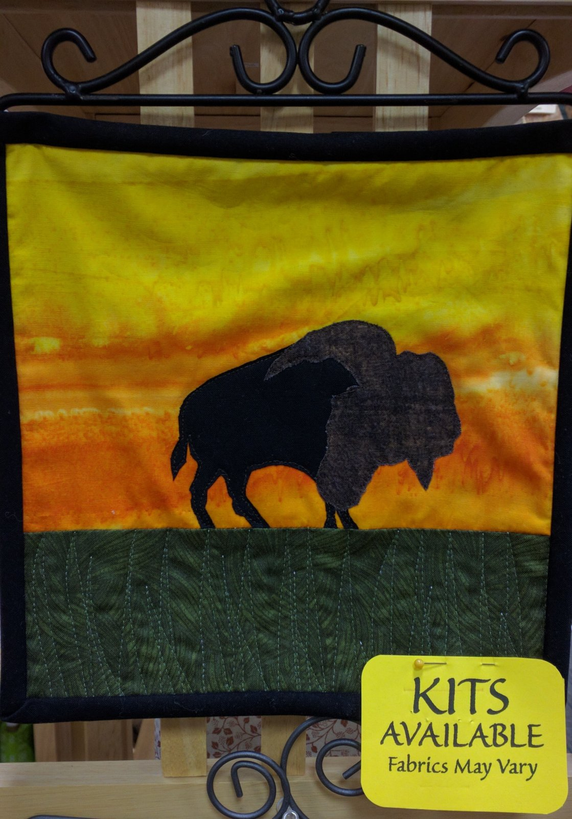 Bison Wallhanging Kit 9 x 9