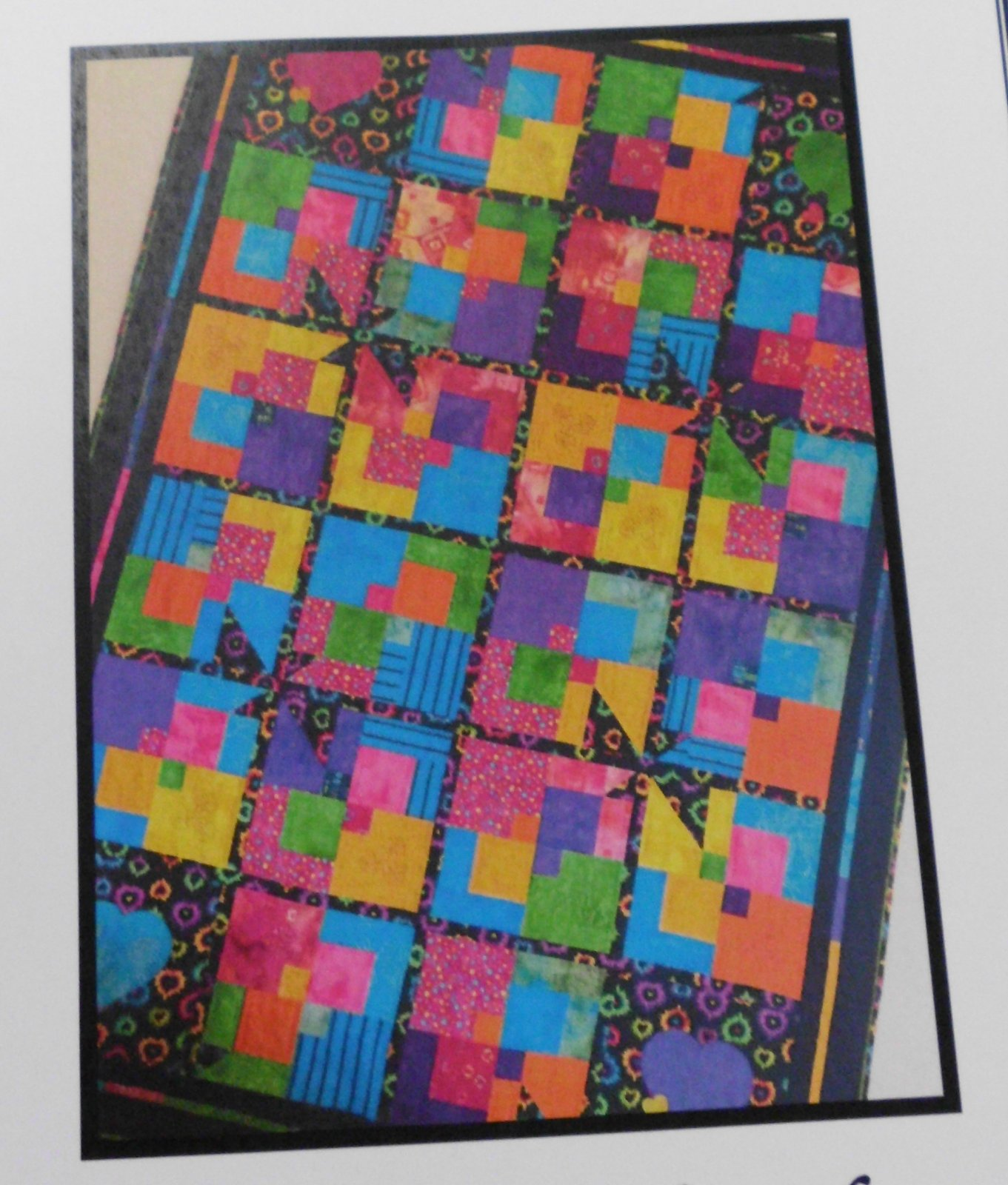 Twisted Quilt Pattern #321