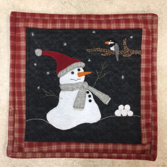 Snow Many Friends Wall Hanging Kit 12 x 12
