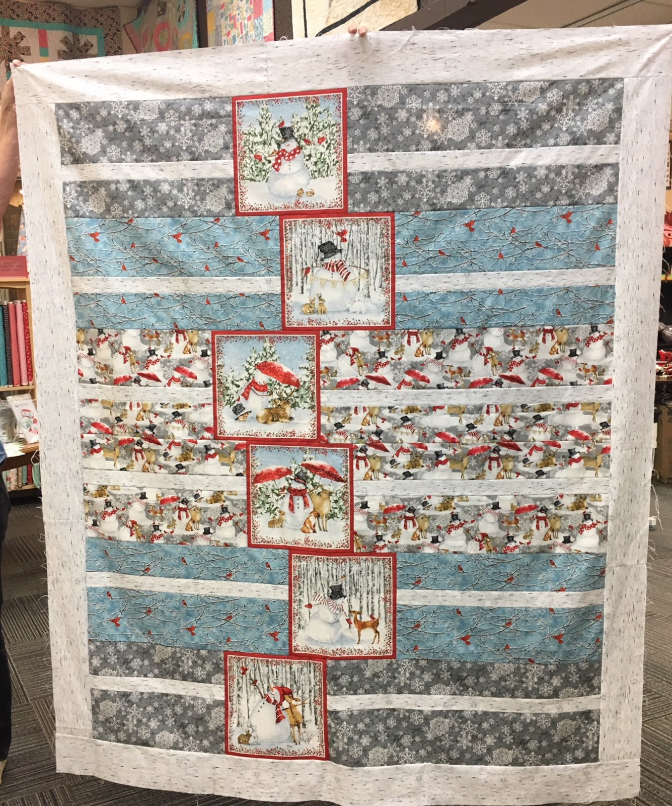 Snowy Days Quilt Pattern