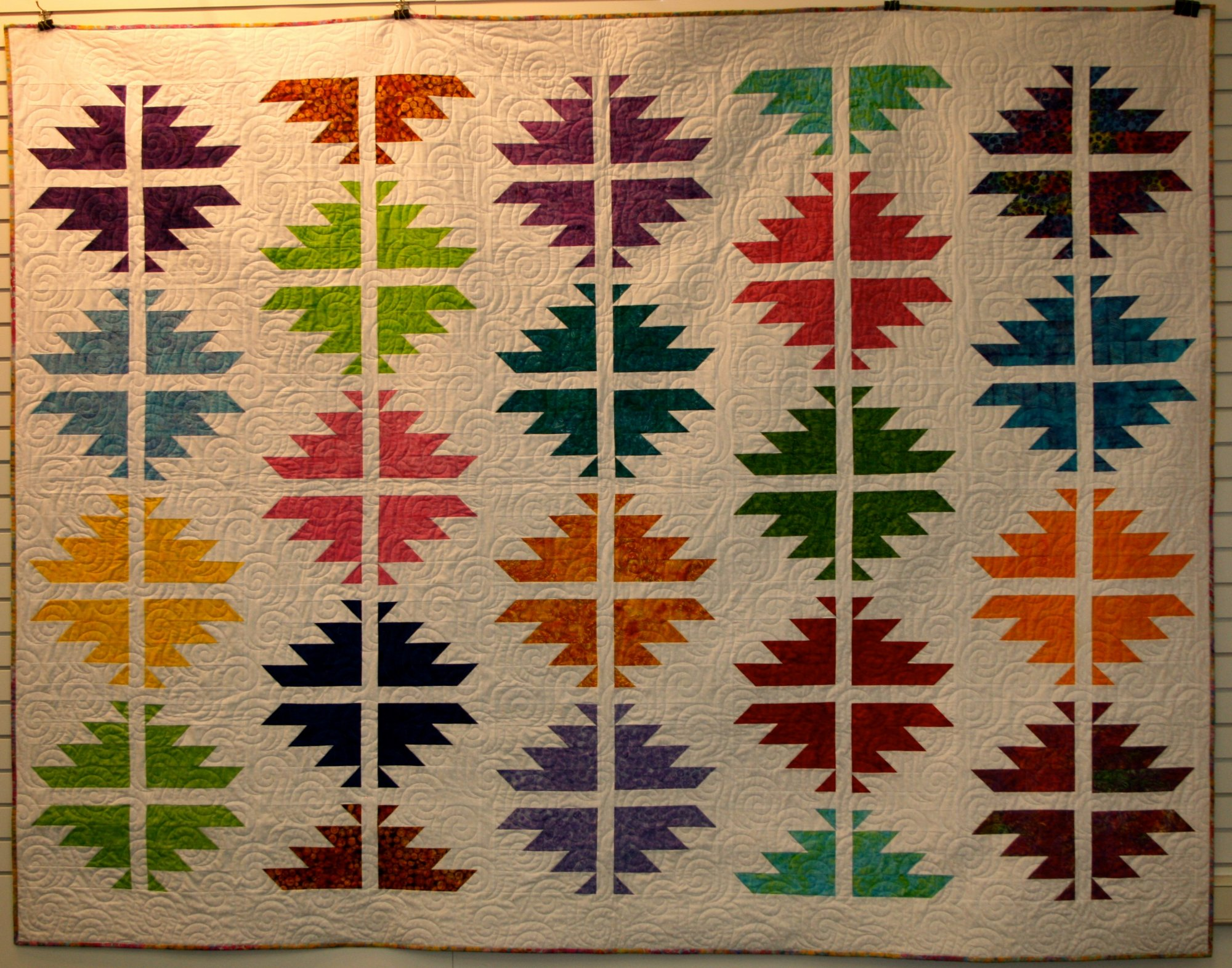 Split Views Quilt Pattern