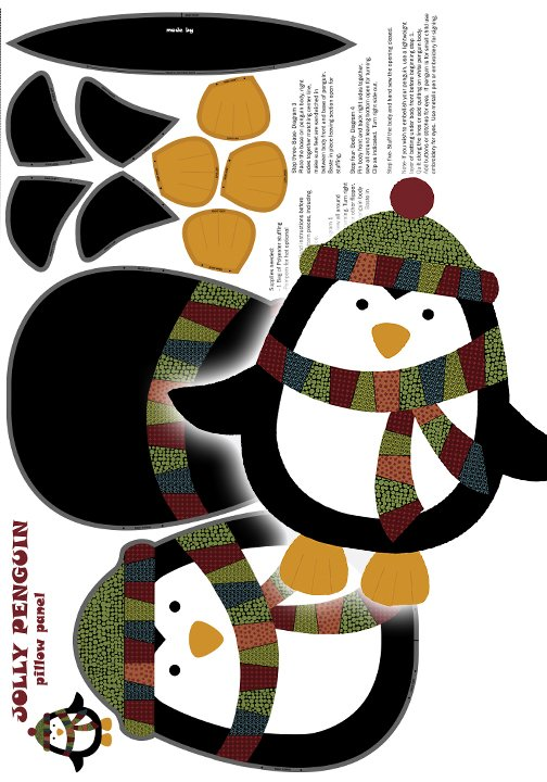 Jolly Penguin and Friends