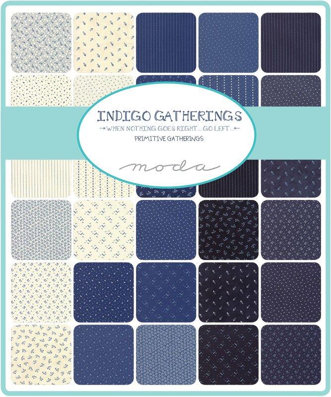 Moda; Indigo Gatherings fabrics