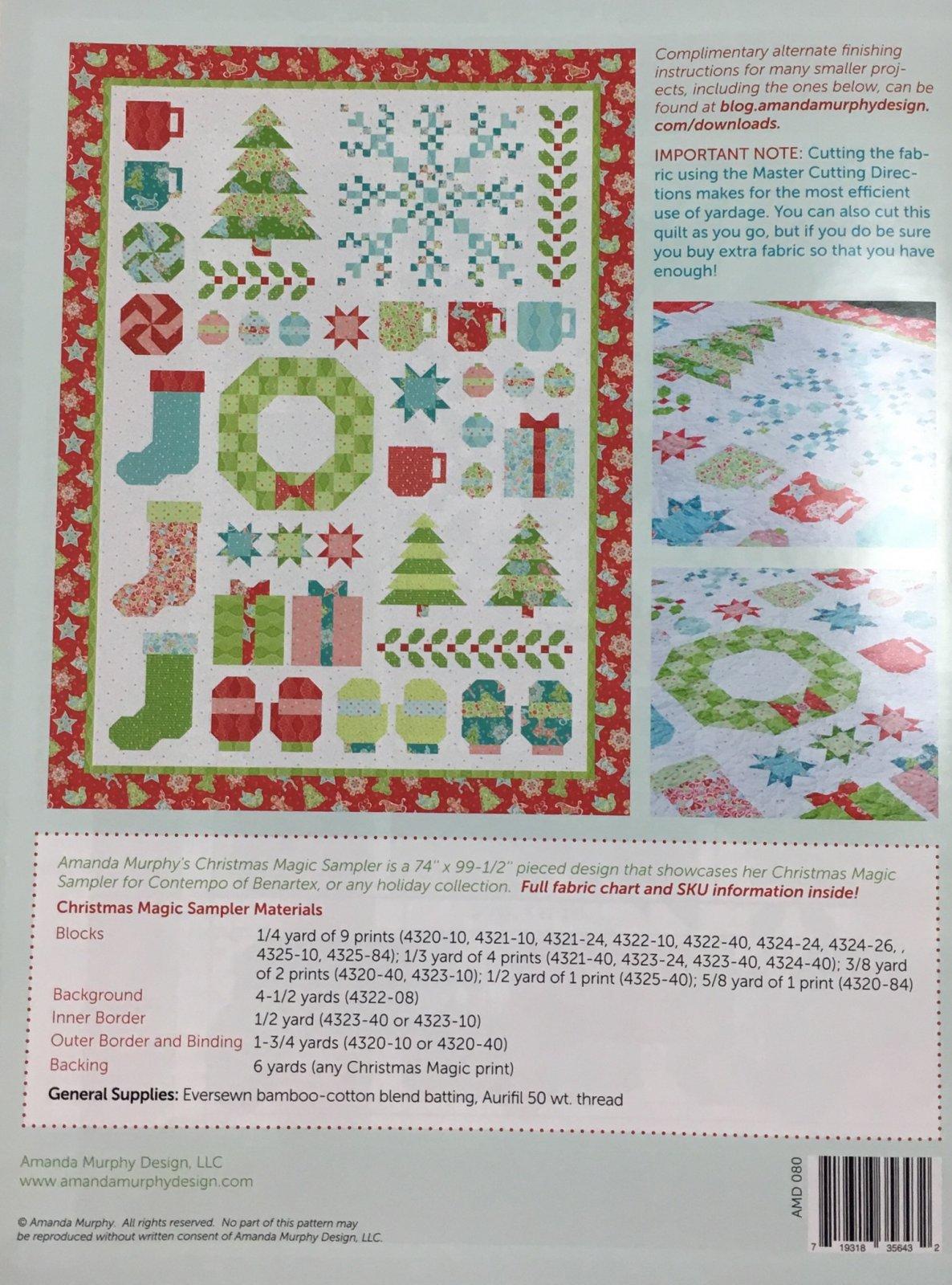 Christmas Magic Sampler by Amanda Murphy