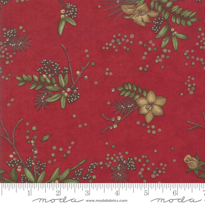 Moda; Winter Manor fabrics by Holly Taylor