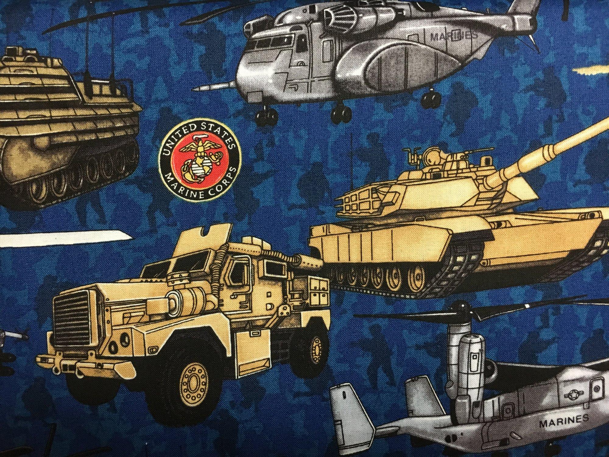 RJR; Dan Morris; Military Salute; Marine Corps
