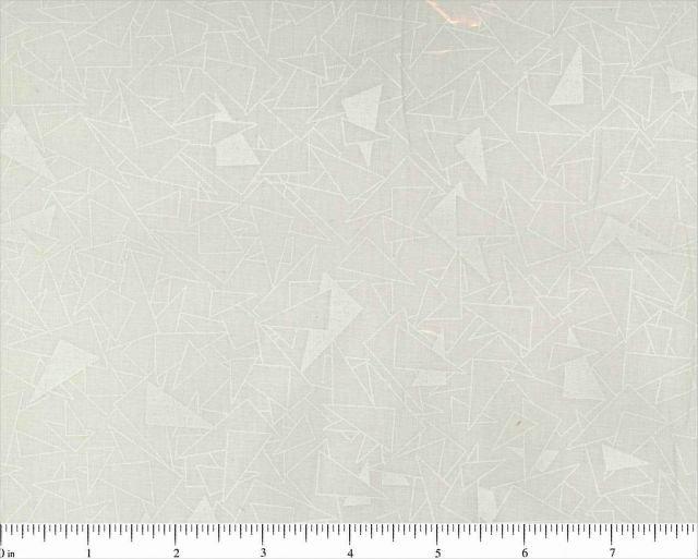 Choice; tone on tone fabric - Triangles Print