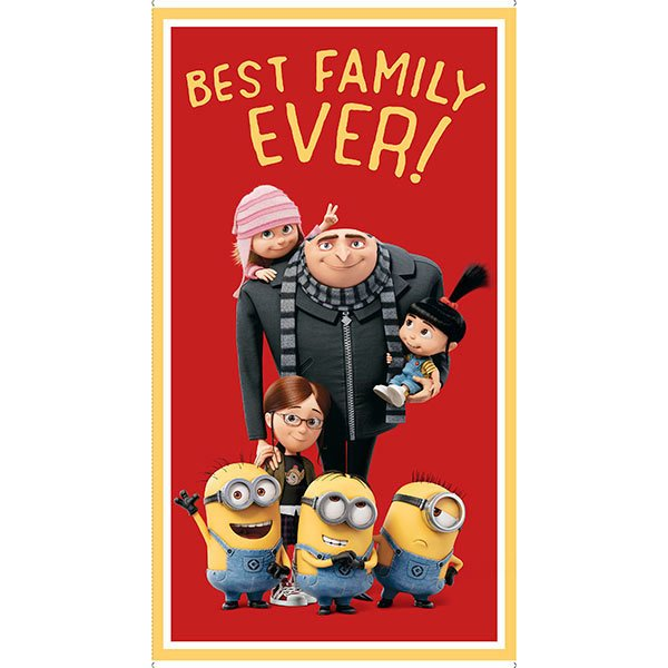 Best Family Ever Despicable Me/Minions Panel