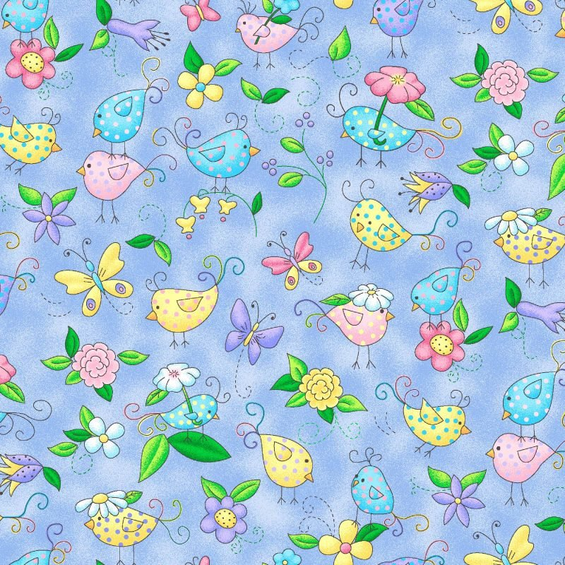 Epic; Best Friends - birdies fabric