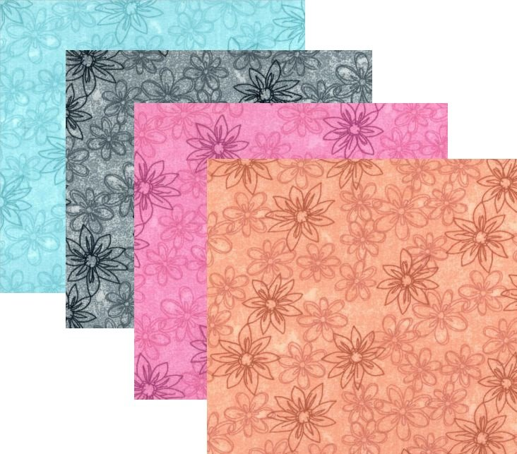 Choice; 108 Wide; Sketched Floral print