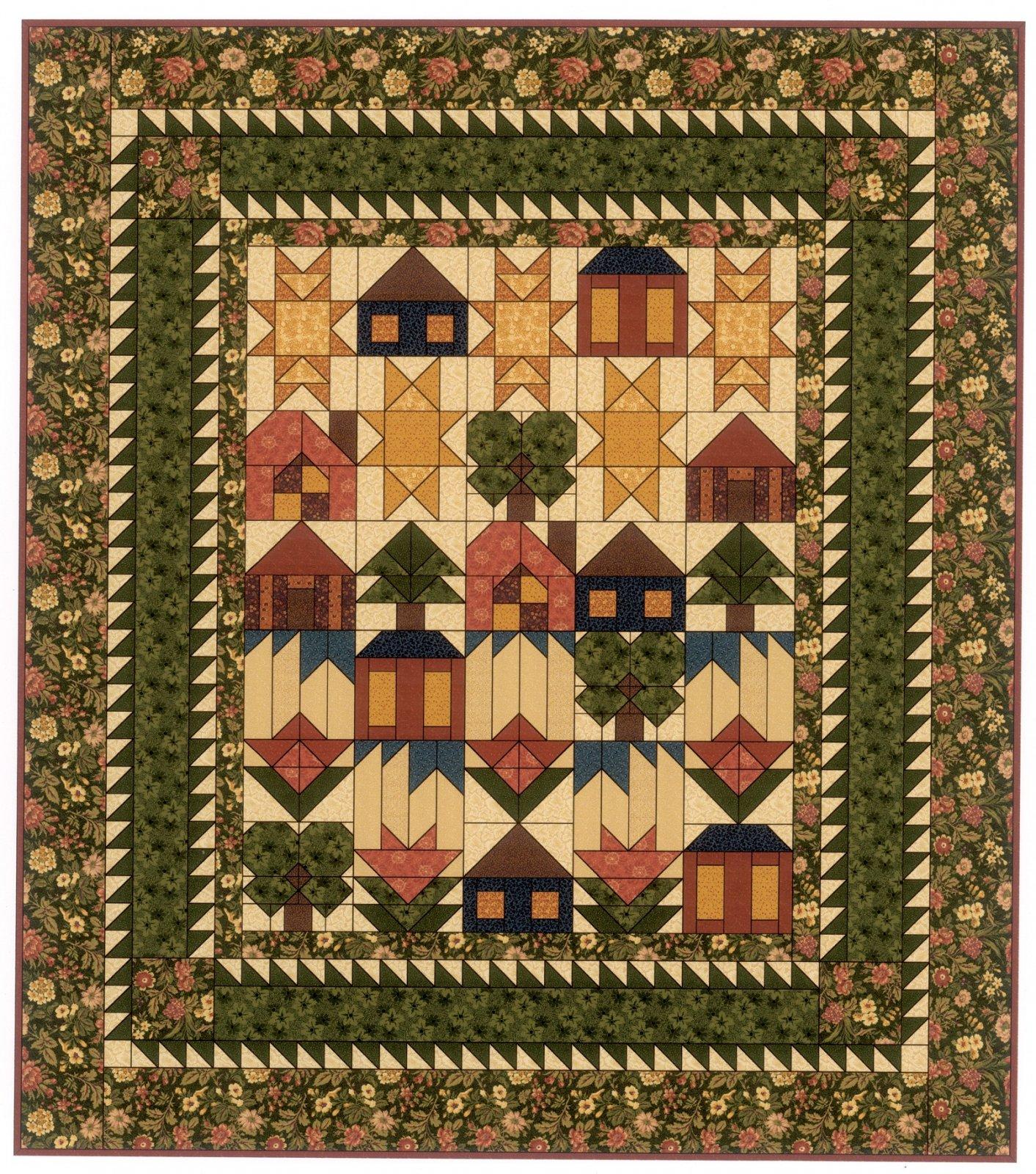 Thimbleberries Village Green Fabrics