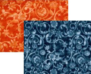 Choice; 108 wide - Floral Vine print