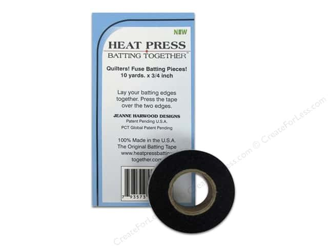 Heat Press Batting Together