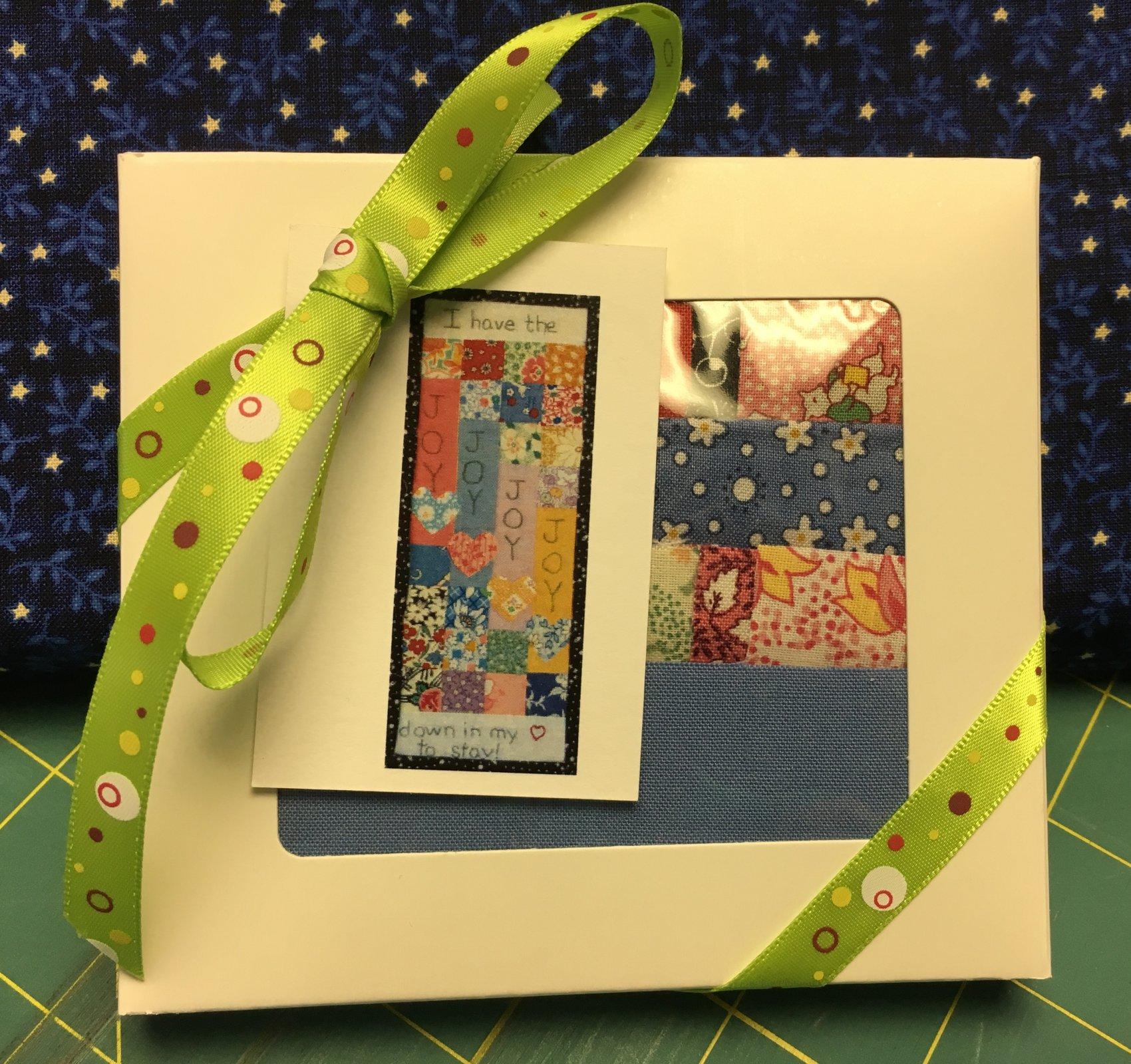 Hymn Stitch; Joy Joy Joy kits
