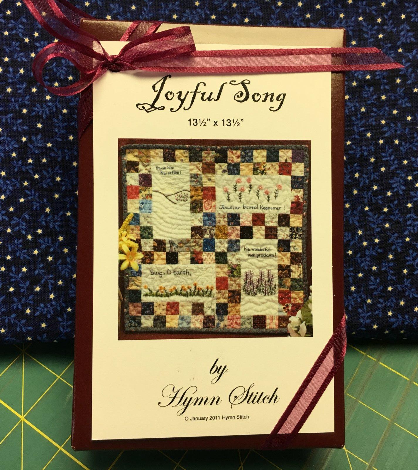 Hymn Stitch; Joyful Song kit