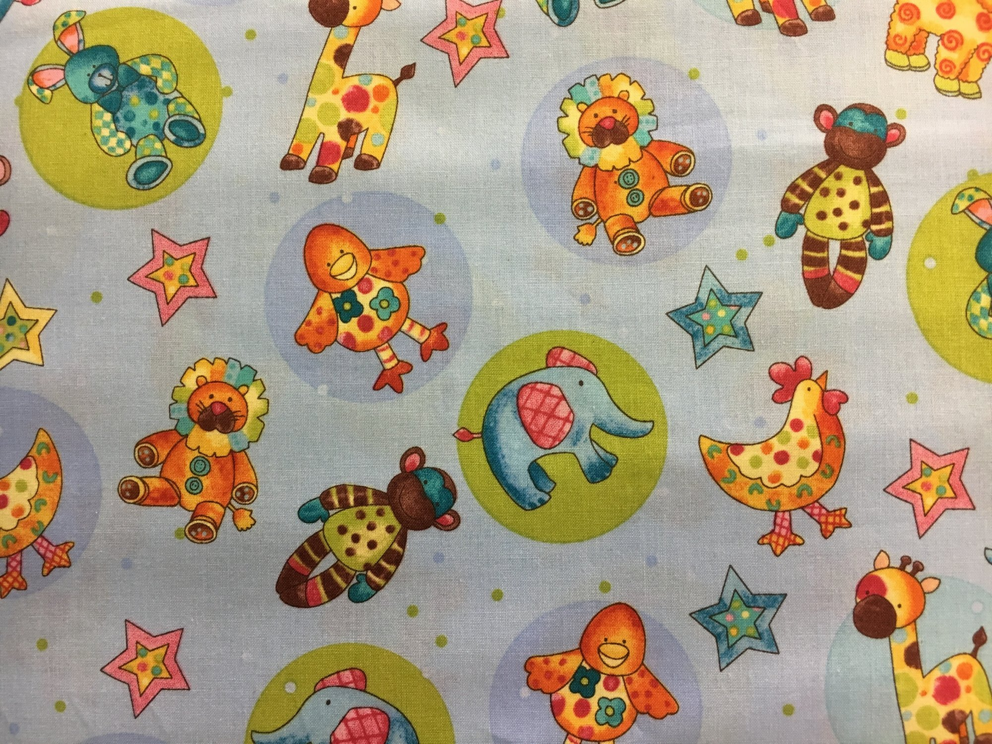 Clothworks; Cuddly Baby fabrics (multiple prints)