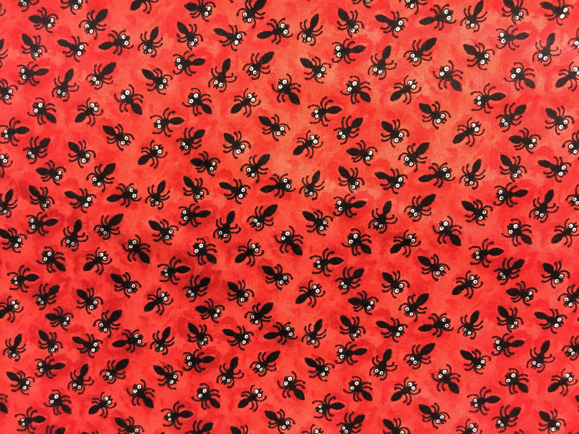 Blank Quilting; Bugging Out - red