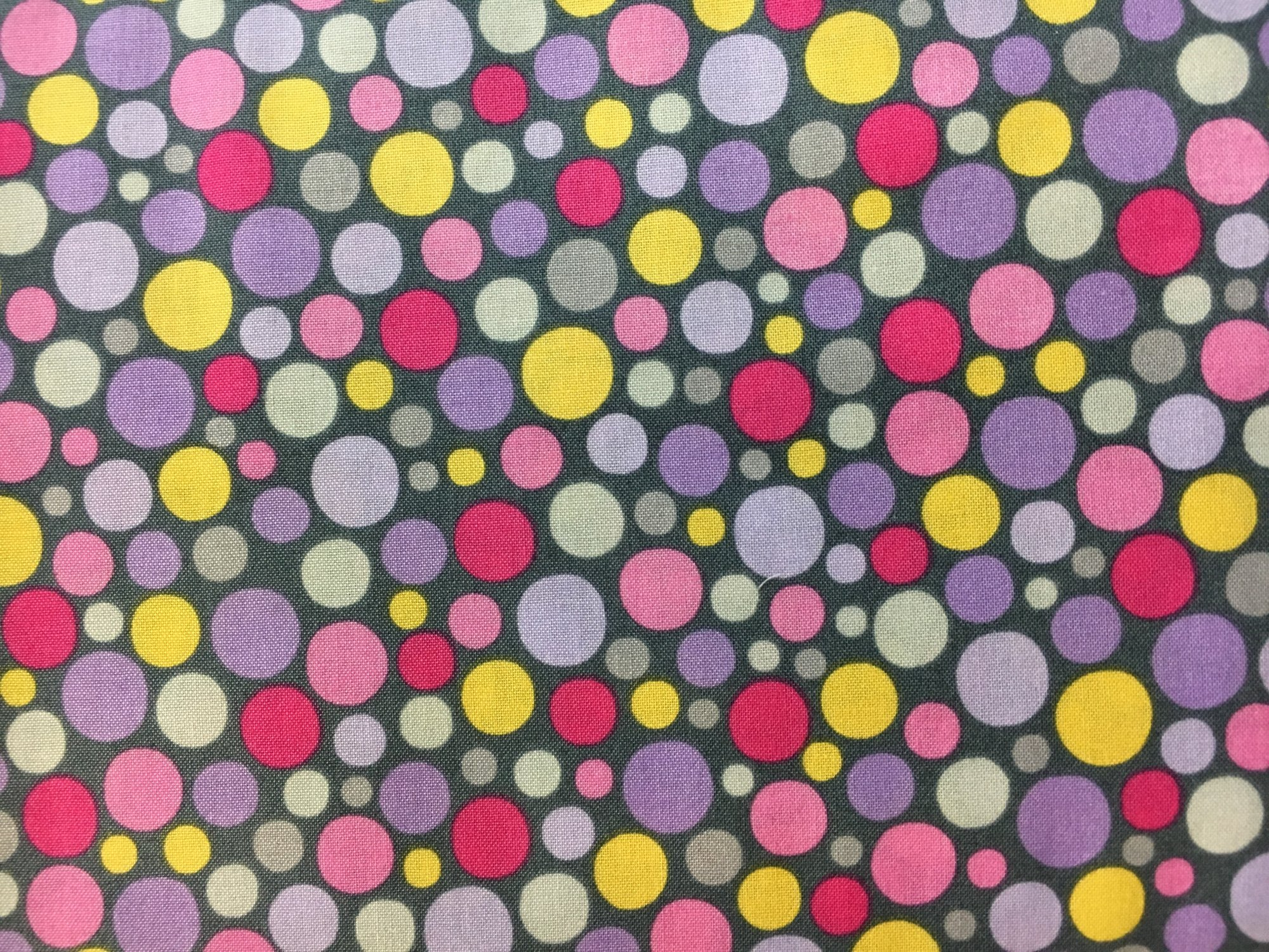 Quilting Treasures; What Girls aRe Made of - dot print