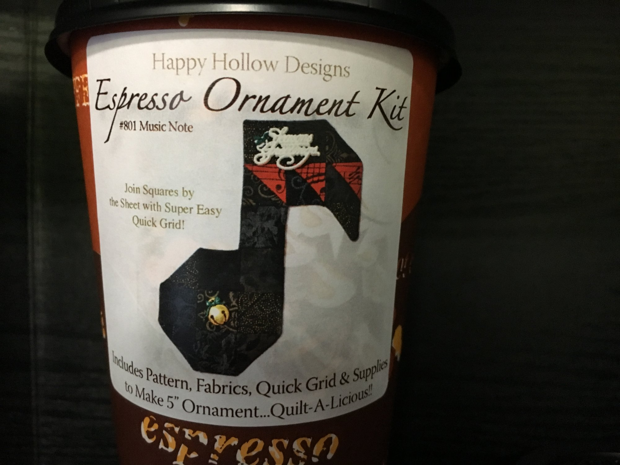 Happy Hollow; Espresso Ornament Kits