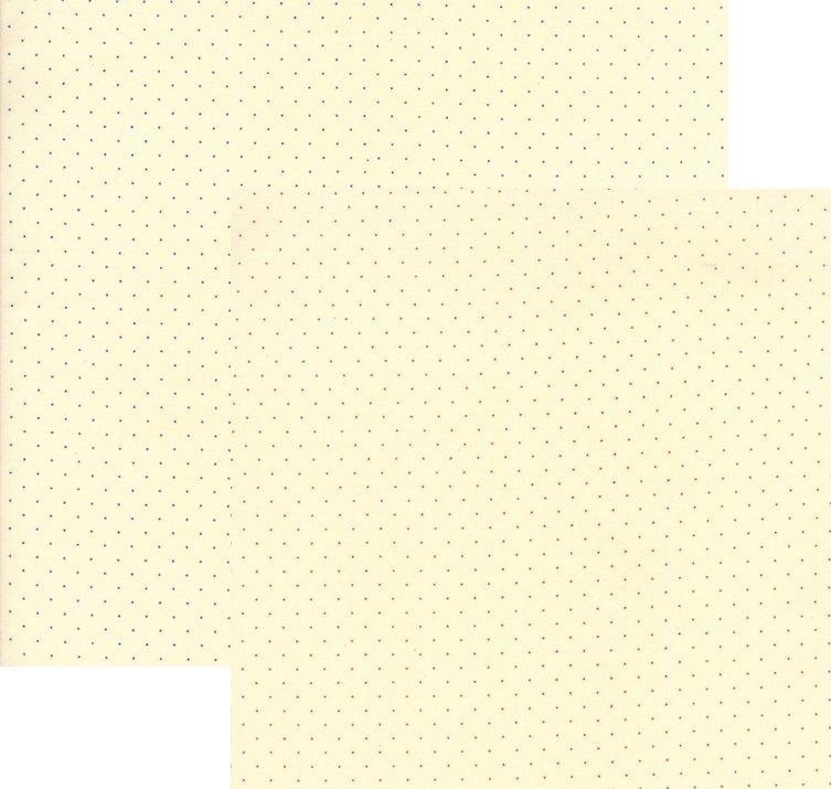 Moda; Provencal fabrics; pin dot