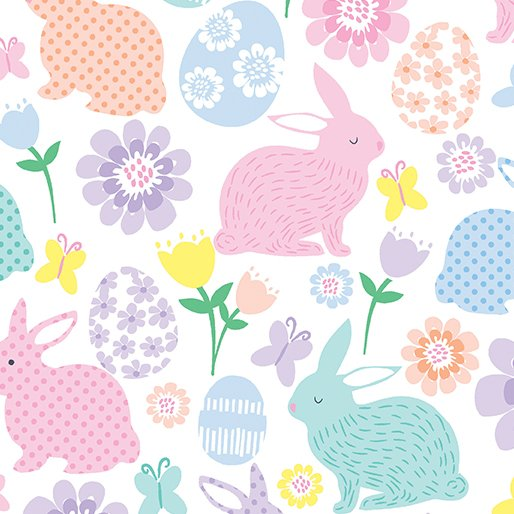 Kanvas; Love Bunny fabrics