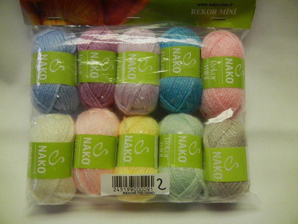 Nako Rekor mini yarn set